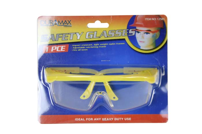 Tool Rich Safety Glasses (adjustable)