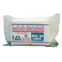Wound Dressing Premium #15 Latex Free