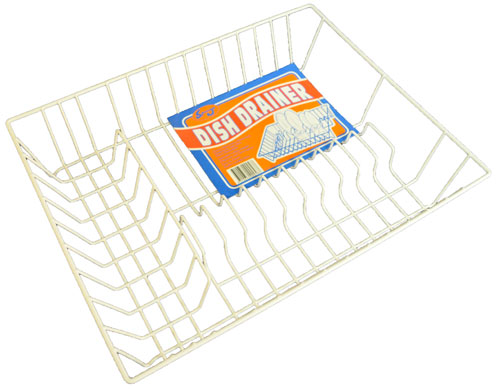 Dish Drainer - Spungo Coated Wire