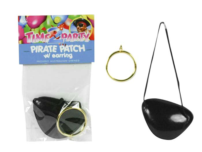 Pirate Patch and Ear Ring