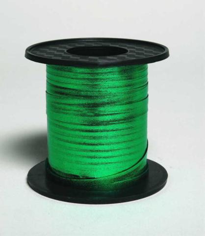 Metallic Curling Ribbon 225m Reel Green