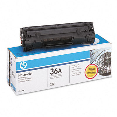 HP 36A Black LaserJet Cartridge