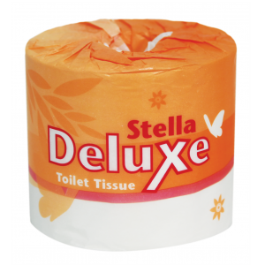 Toilet Paper - Stella 2Ply Virgin 700sheet Indiv.Wrap 48/Ctn