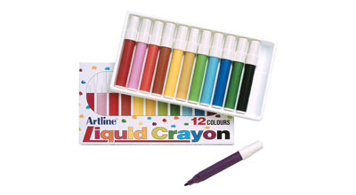 Artline Liquid Crayon Pack of 12