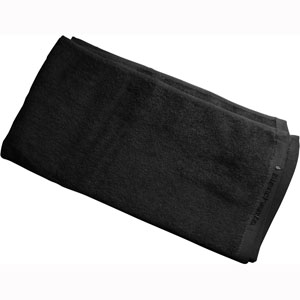 Towel Alliance Salon Jet Black 40x85cm ea