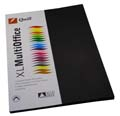 Kindy Sheet 210gsm Black Pk50