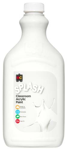 Splash Acrylic 2Lt Snowball White