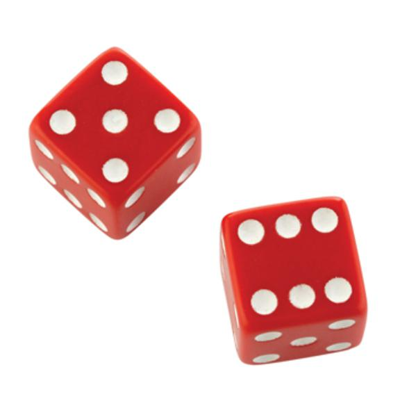 Dice 15mm x 6 & Playing Cards Set
