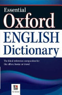 Dictionary Essential Aust. Oxford