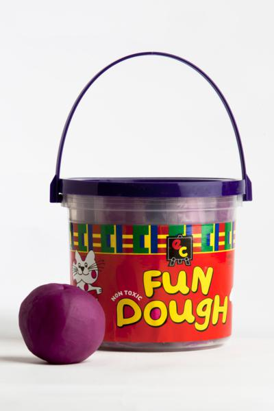 Fun Dough - 6 Assorted Colours Bucket 1.2Kg