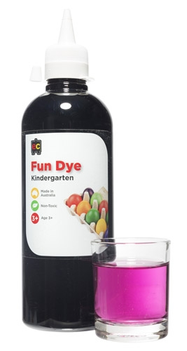 Kindy Liquid Fun Dye 500ml Purple