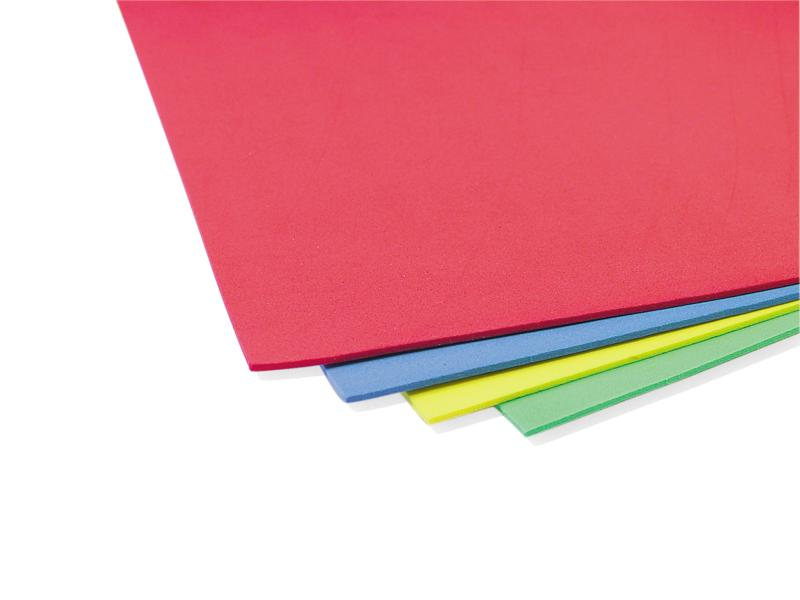Foam Sheets - A4 Assorted Cols. Pack of 40  EC