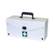Case - First Aid PVC White 30.5x14.5x12cm