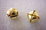 Folley Bells 12mm Gold Pack of 20