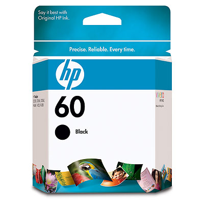 HP 60 Black Cartridge (Small)