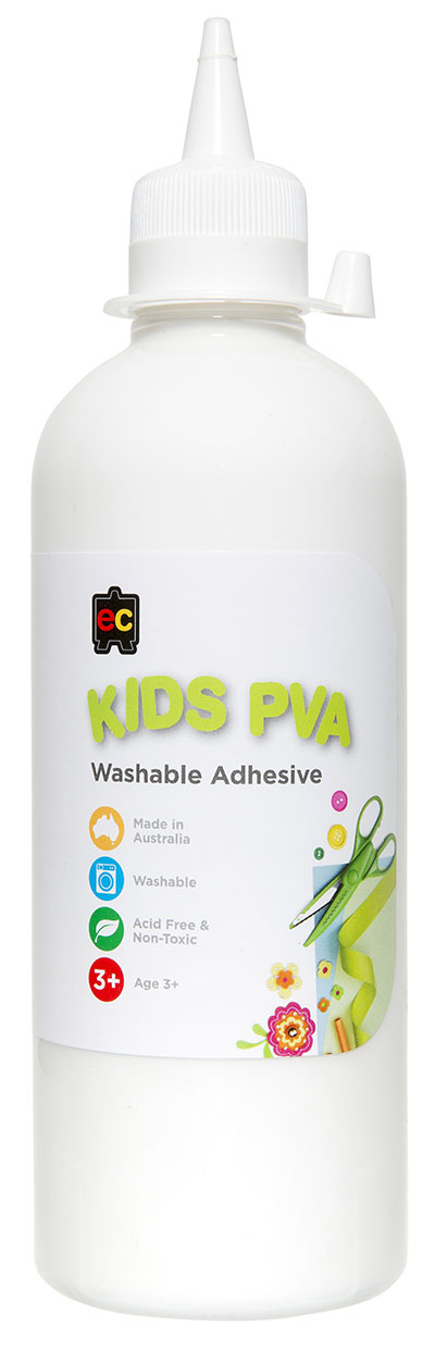 PVA Glue - EC Kids Washable 500ml