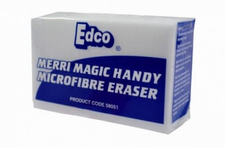 Merri Magic Microfibre Eraser Jumbo Block 18 x 9 x 4 Cm