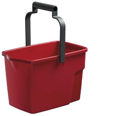 Squeeze Mop Bucket Oates 9L Red