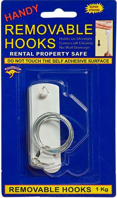 Handy Hooks Removable Picture Kit Pack of 1