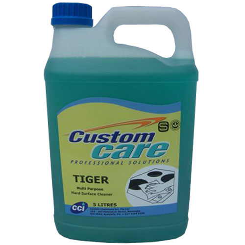 CC Tiger Orange Cleaner / Sanitizer 5L