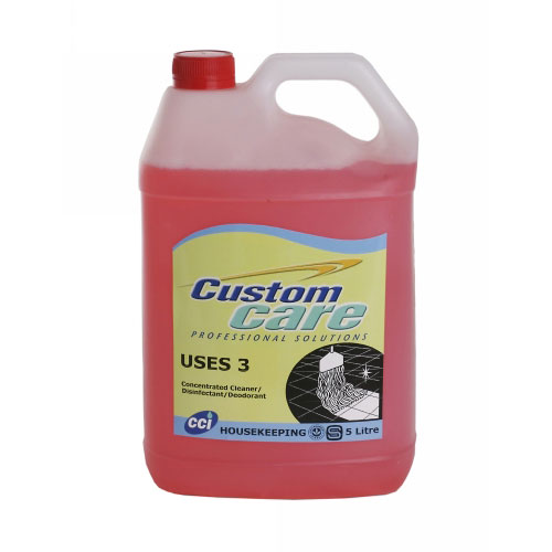 CC Uses 3 Floral Sanitizer / Disinfectant / Cleaner 5L