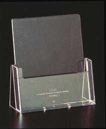 Brochure Holder A4 Single Counter Clear