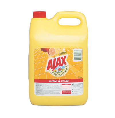 Ajax Lemon Floor Cleaner 5L