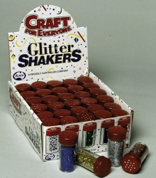 Glitter Shakers - Alpen Box of 30 (5 x 6 Colours)