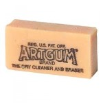 Eraser General Art Gum Natural 50x25x25mm EACH