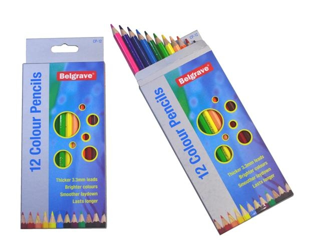 Colour Pencils - Belgrave Full Pack of 36