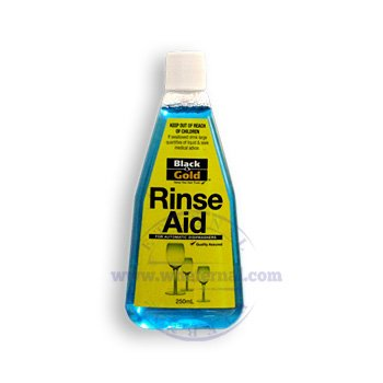 Black & Gold Rinse Aid 250ml