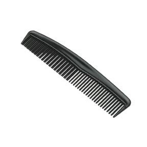 Comb Black 12cm Pack of 12