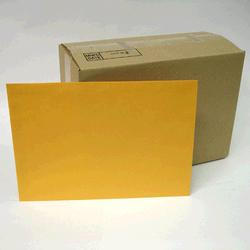 C4 Envelope Kraft Gold (fits flat A4) 324x229mm Pack of 25