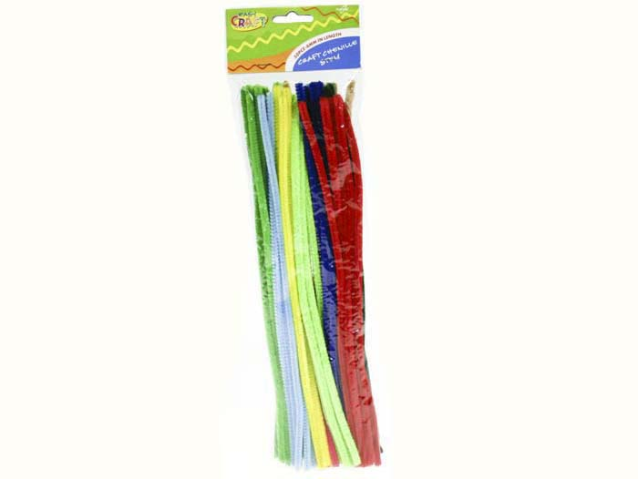 Chenille Stems - 6mm Standard Pack of 50
