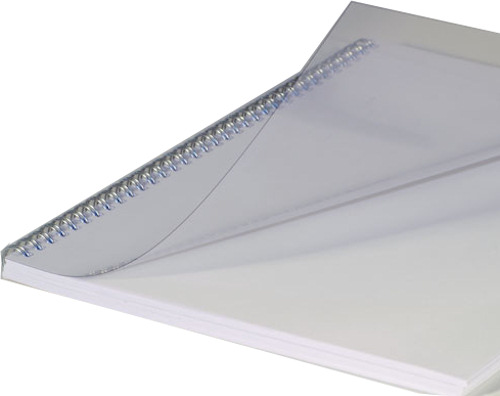 Binding Covers A4 Clear Pack of 100 Fellowes