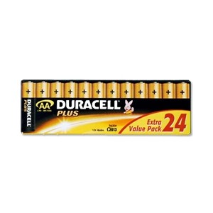 "Duracell Alkaline Battery ""AA"" Bulk Box of 24"
