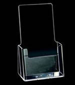 Brochure Holder DL Single Counter Clear