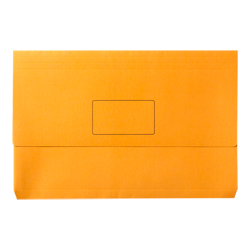 Document Wallet Manilla F/Cap Orange