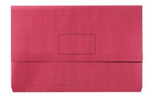 Document Wallet Manilla F/Cap Red