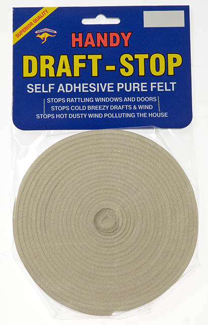 Handy Draft Stop Adhesive Wool Felt 10mm x 5m