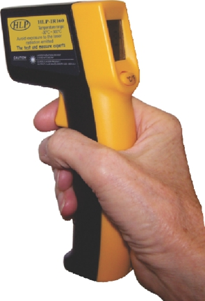 Infra Red Thermometer Gun 12:1 Ratio with Laser Pointer
