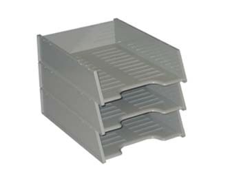 Document Tray Kings Multi-Fit Grey EACH