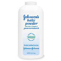 Baby Powder Cornstarch Johnson&Johnson 255gm