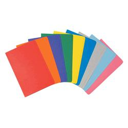 Manilla Folders Foolscap Assorted Colours Pack of 20