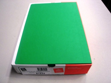 Manilla Folders Foolscap Green Pack of 10