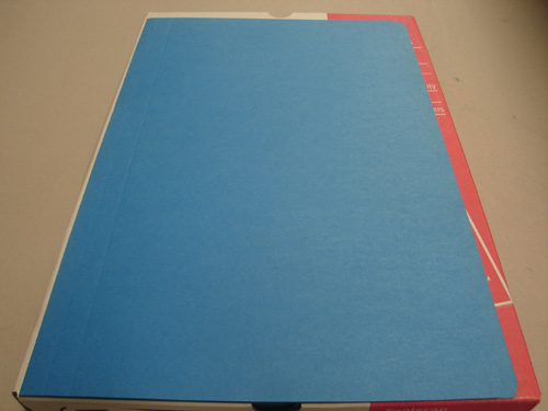 Manilla Folders Foolscap Light Blue Pack of 10