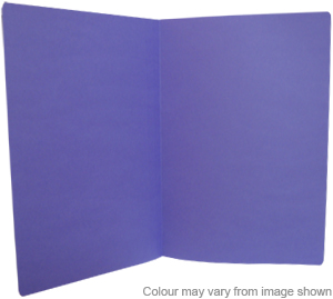 Manilla Folders Foolscap Purple Pack of 10