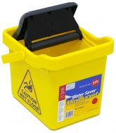 NAB Rect. Wringer Mop Bucket 12L Yellow