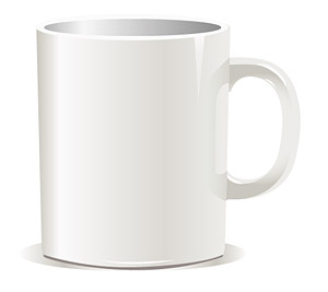 Coffee Mug White (Paint-able)