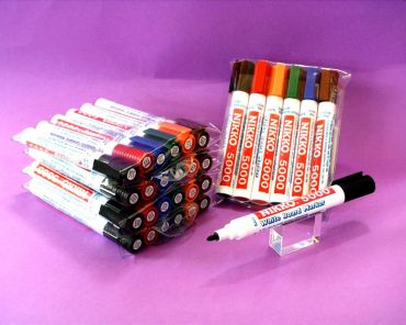Nikko Whiteboard Marker Medium Tip 6 Colour Pack